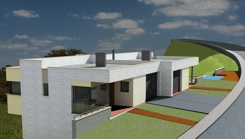 Vivienda bifamiliar terrassa - Arquitectos terrassa ...